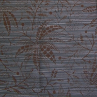 """Sumatran Palm - Cobalt"" Stripe and Floor Upholstery Fabric from CF Stinson Inc"