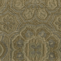 """Departure - Antique"" Unique Floral Designer Upholstery Fabric by Richloom"