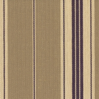 """Johnathan - Tan"" Great Taupe and Purple Stripe Fabric for Home Decor Upholstery"