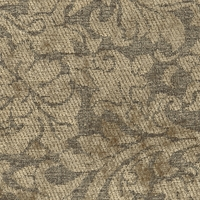 """Coriander - Silkwood"" Lovely Scroll Chenille Upholstery Fabric by Quaker Fabric"