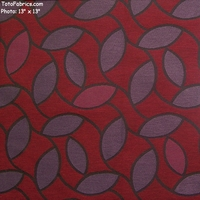 """Tea Tree - Mulberry"" Large Scale Floral Upholstery Fabric from Designtex�"