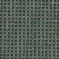"""Saltaire - Forest"" Teal Green Check Designer Upholstery Fabric by Robert Allen"