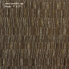"""Telegram - Chocolate"" Crypton Green� Stripe Fabric from Momentum Textiles"