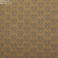 """Tessellate - Lantern"" Unique Geometric Triangle Upholstery Fabric from Designtex�"
