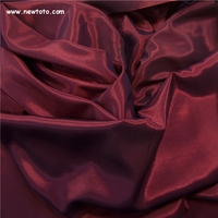 """Theta - Cherry"" Lustrous Drapery D�cor Fabric from Crestmont"