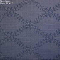 """Thorn Bound - Ice"" Soft Woven Upholstery Fabric with Floral Design"