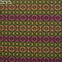 """Topiary - Green River"" Colorful Ogee Geometric Upholstery Fabric from Designtex�"