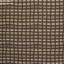 """Turin - Granite"" Square Stripe Upholstery Fabric from Momentum Textiles"