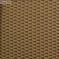 """Twist - Cinder"" Chain Linked Fence Design Fabric from Bernhardt Textiles"