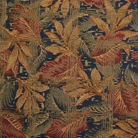 """Underbrush - Midnight"" Floral Upholstery Fabric from Robert Allen"
