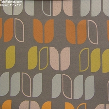 """Upside - At Ease"" Geometric Stripe Crypton Green� Upholstery Fabric from Momentum Textiles"