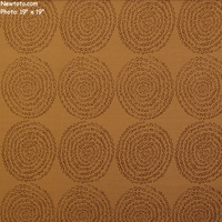 """View  - Caramel"" Circle Fabric for Upholstery from Bernhardt Textiles"