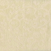 """Visage - Ivory"" Scroll Chenille Fabric for Home Decor (AS-IS) (Dye Lot 3)"