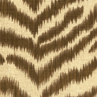 """Couture Kingdom - Chestnut"" Outdoor Animal Print Fabric Waverly Sun N Shade�"