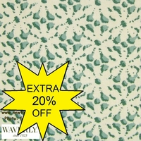 """Waverly's Eyelet - Mirage on Natural White"" Lovely Fabric for Drapery of Decor"