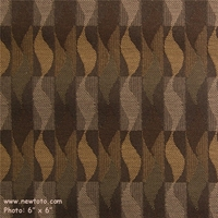 """""""Whirl - Truffle"""" Unique Ribbon Stripe Upholstery from Maharam Fabric Co"""