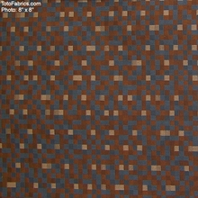 """Zocalo - Sparrow"" Checker Upholstery Fabric from Designtex�"