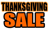 1 Thanksgiving Day Sale