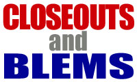 3 Shop ALL CLOSEOUTS & BLEMS