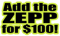 Add the ZEPP to YOUR New Bat!