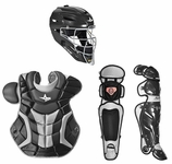 All-Star Black/Silver Adult System 7 Professional/College Catcher's Gear Set CKPRO1 Ships 01-01-17