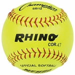 Champion 12 in. Optic Yellow Softball SB12 1 dz