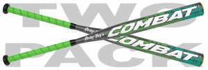 Combat Derby Boys ASA End-Loaded Slow Pitch Bat DBSP0 (2016) -- 2 Pack