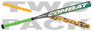 Combat Derby Boys / Casey Rogowski ASA Slow Pitch Bat -- 2 PACK
