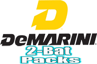 Demarini 2-Pack Bats