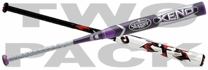 DeMarini CF5 and Louisville XENO Fastpitch Bat Mixed 2-pack