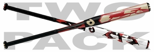DeMarini CF5 and CF6 Fastpitch Bat WTDXCFP Mixed 2-pack
