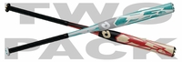 DeMarini CF6 Fastpitch Softball Bats 2014 2-pack