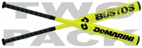 Demarini Crystl Bustos Signature Fastpitch Bat WTDXBFP -13 oz 2-Pack