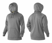 DeMarini Men's Fleece Hoodie Goatbelly Grey WTD105920