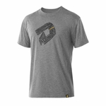 DeMarini Men's Mottos Graphic Tech Tee Shirt Grey WTD106121