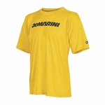DeMarini Men's Yard-Work Wordmark Training T Gold WTD104380