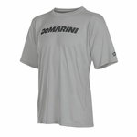 DeMarini Men's Yard-Work Wordmark Training T Gray WTD104320