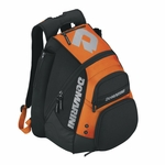 DeMarini Voodoo Orange Backpack WTD9101 2014