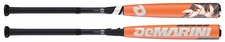 DeMarini Voodoo Raw Youth Bat WTDXVDL-16 -13oz (2016) BLEM No Warranty
