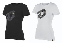 DeMarini Women's Post Game Mottos T Black and White WTD302970