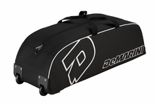 DeMarini Youth Black Wheeled Bag