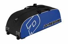 DeMarini Youth Royal Wheeled Bag
