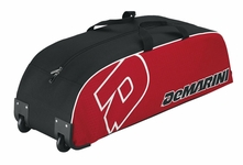 DeMarini Youth Scarlet Wheeled Bag