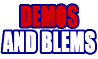 3 Demo and Blem Bats