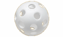 "Easton 12"" Perforated Plastic Practice Ball Optic Yellow - 6 Pack"