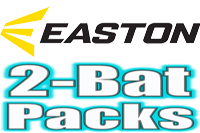 Easton 2-Pack Bats