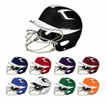 Easton Adult Natural Grip Two Tone Batting Helmets with Mask A168038