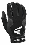 Easton Black/Black Typhoon III Youth Batting Gloves Pair Pack A121689