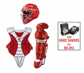 Easton Black Magic Catchers Youth Red Box Set A165012