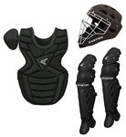 Easton Black Youth Catcher's Set w/ Helmet Ages 9-12